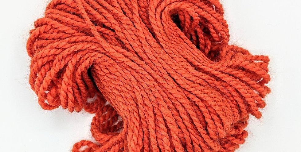 100% Baby Alpaca Chunky Yarn Hank - orange