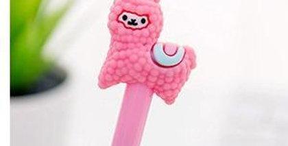 Alpaca Gel Ink Pen - Pink