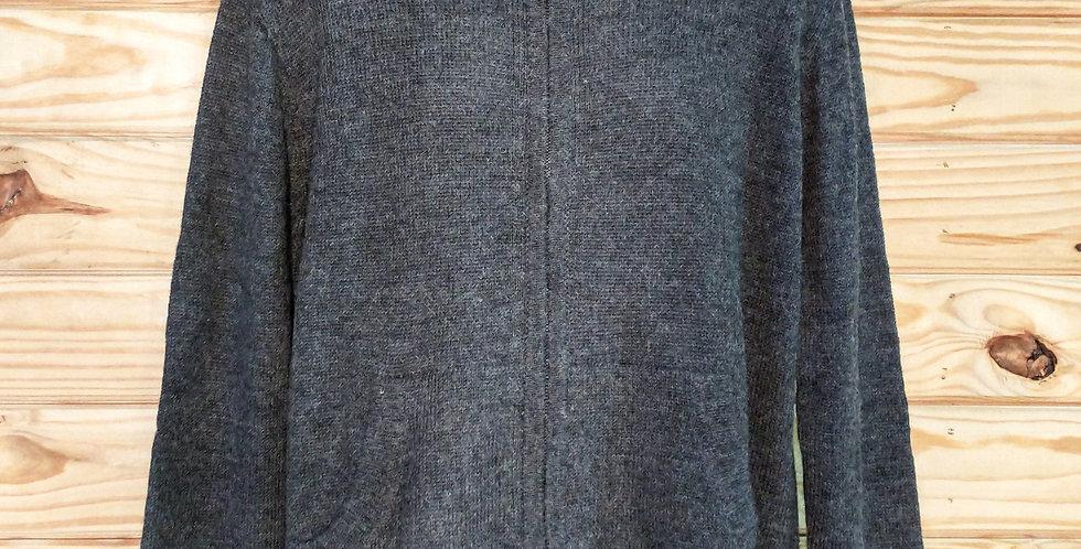 Men's Full Zip Alpaca Cardigan