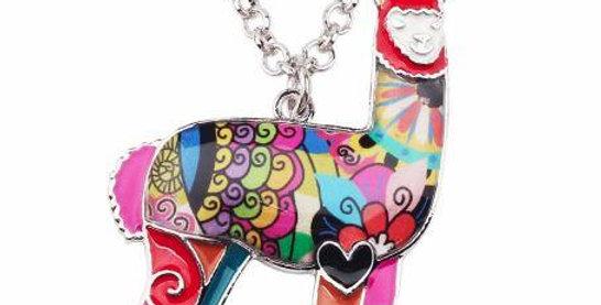 Alpaca Charm Necklace