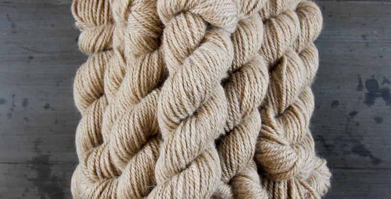 Bulky Knitter's Yarn - Fawn