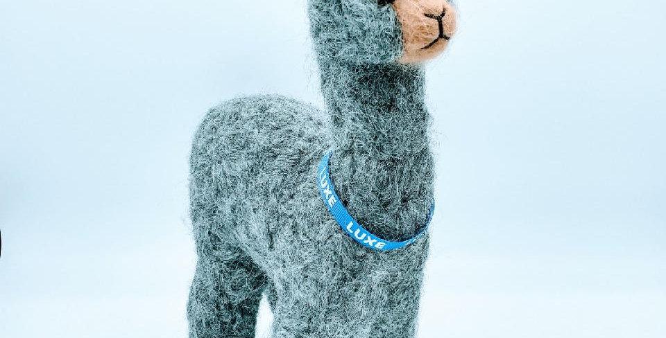 12″ Alpaca Fiber Sculpture - with Luxe collar