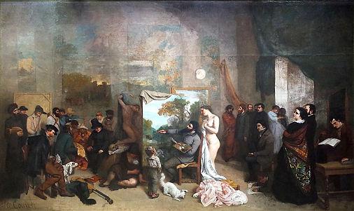 real Courbet-Gustave_l-atelier-du-peintr