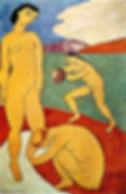 Matisse-LuxeIIPeinturealaCaseinesurToile