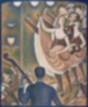 Cubisme Georges_Seurat,_1889-90,_Le_Chah