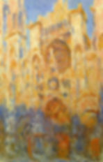 Monet_-_Rouen_Cathedral,_Facade_(Sunset)