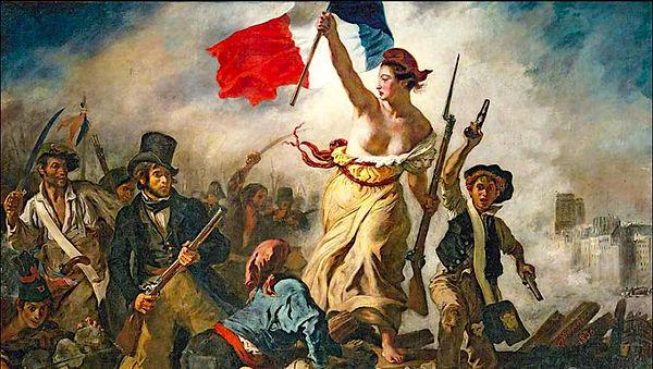 Neoclass la-liberte-guidant-le-peuple-eu