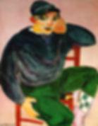 Matisse-JeuneMarinIIHuilesurToileCollect