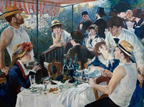 le déjeuner des canotiers (Renoir)