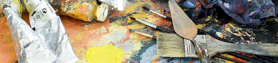 Atelier huile et acrylique