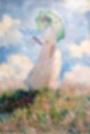 Monet Essai_de_figure_en_plein-air,_Femm