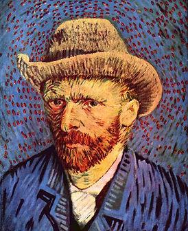 Van_Gogh autoportait au chapeau de feutr