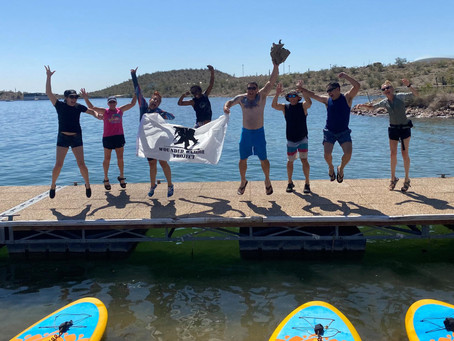 WOUNDED WARRIOR PROJECT TRIES SUP YOGA