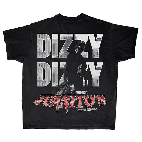 """Juanito's x Dizzy. """"EveryTime"""" T-Shirt"""
