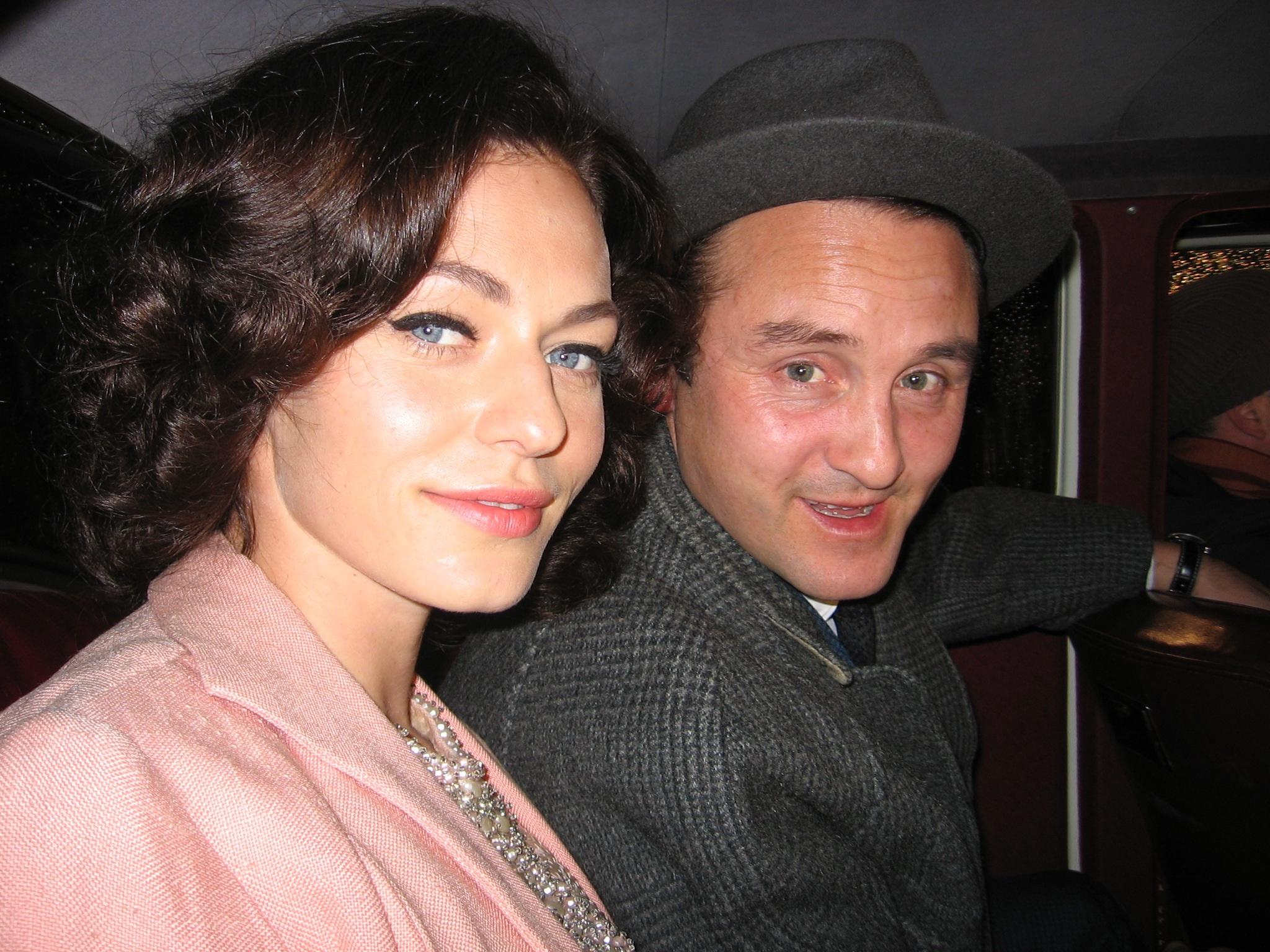 Sarah Grünenwald og Lars Ranthe