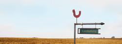 Skiltet ved vägen