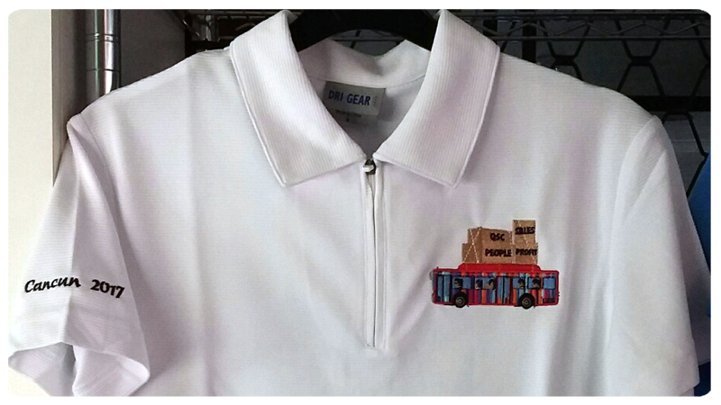 shirt embroidery Toowoomba