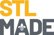 STLMade_Logo_Stacked_Yellow_Slate_RGB_Lt
