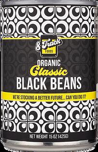 Classic Black Beans 8trackfoods.com