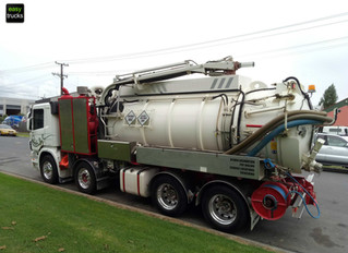 HYDRO-EXCAVATION TANKER ** SOLD **