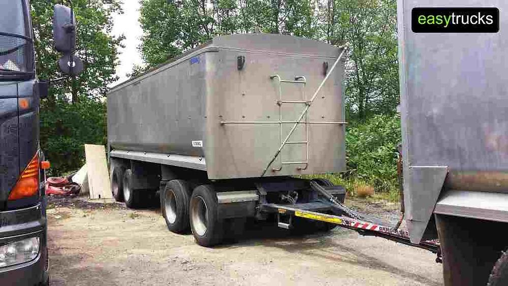 Transfleet 4 axle bulk tipper trailer for sale