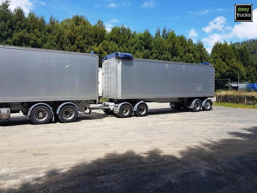 Transfleet hi-cube bulk tipper trailer