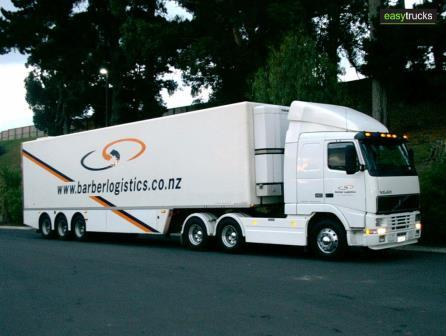 Craig Silby Volvo and Fairfax semi trailer