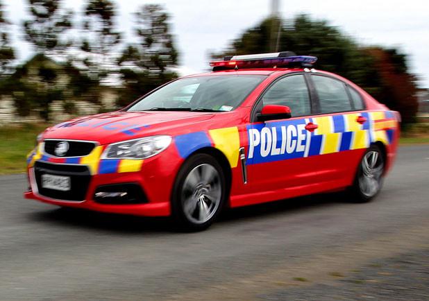 NZ Police highway patrol