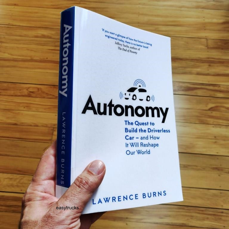 Autonomy -  a book by Lawrence (Larry) Burns