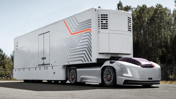 Volvo Vera autonomous tractor unit