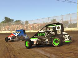 easytrucks iRacing dirt midget race car.