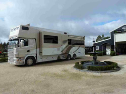 Scania horse truck motorhome DOW review