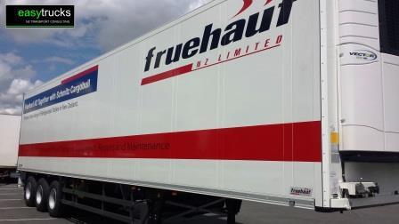 Fruehauf NZ Schmitz Cargobull fridge trailer