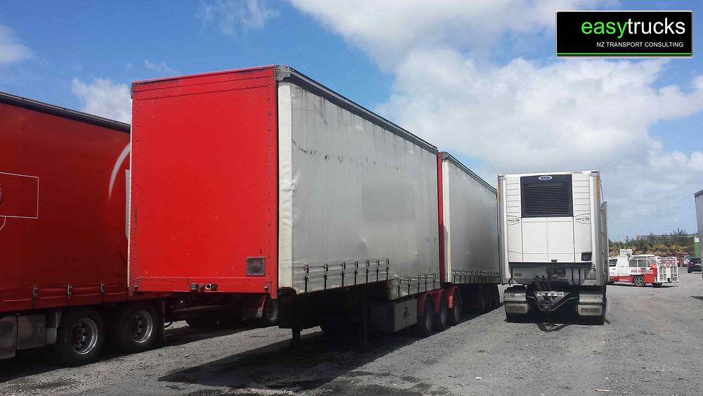 6 AXLE CURTAINSIDER B-TRAIN FOR SALE
