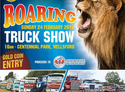 Wellsford Truck Show Helps Save Lives