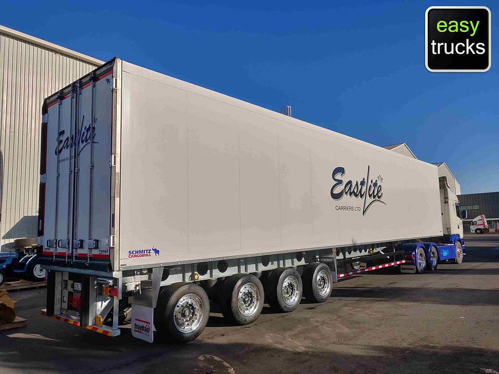 Eastlite Carriers Fruehauf Schmitz Cargobull trailer