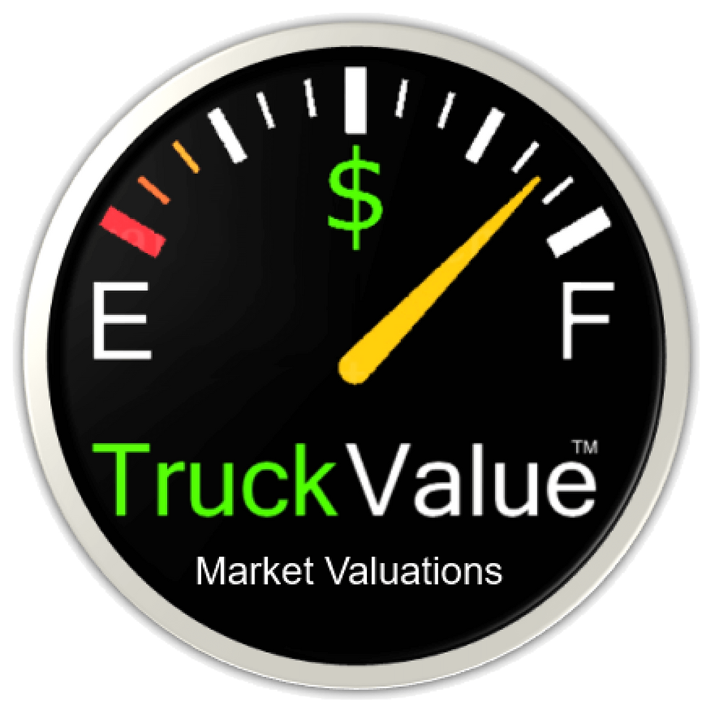 TruckValue Registered Market Valuations
