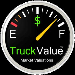 TruckValue Registered Market Valuations