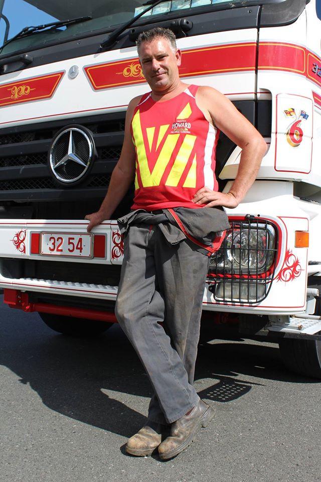 Stuart Howard 2016 Supreme National Truck Driving Champ
