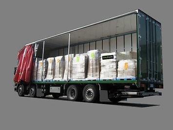 Scania 8x2 truck 20 pallet curtainsider