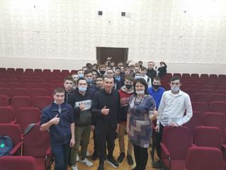 В колледже прошла встреча с  участием Гарифуллина Олега Сабитовича