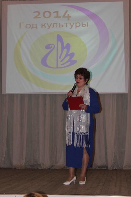 Анфиса Габдулловна читает стих собственного сочинения