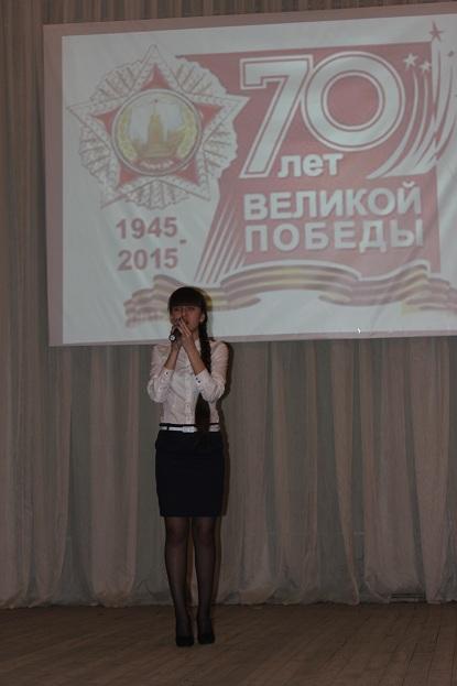 Гареева Марьям рассказывает стихотворение о войне