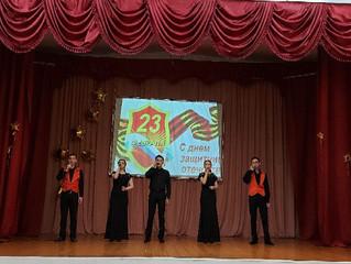 В преддверии 23 февраля в колледже прошел праздничный концерт.