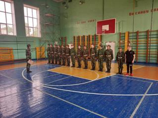в Нефтекамском многопрофильном колледже прошли военные сборы.