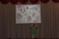 Сахибгареева Диана исполняет татарский танец