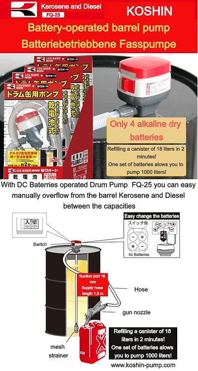 """Drum Pump """"RAKU-AUTO """" FQ-25"""