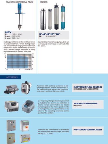 Foras-Pentax multistage centrifugal pump