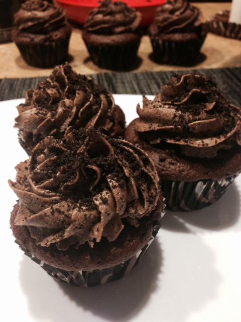 HG's Oreo Mudslide Cupcake