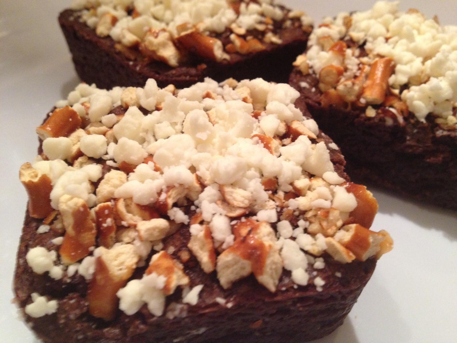 HG's Caramel & Pretzel Brownie